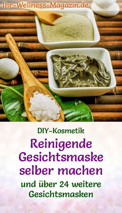 Photo of Make a cleansing face mask yourself – recipe and instructions …