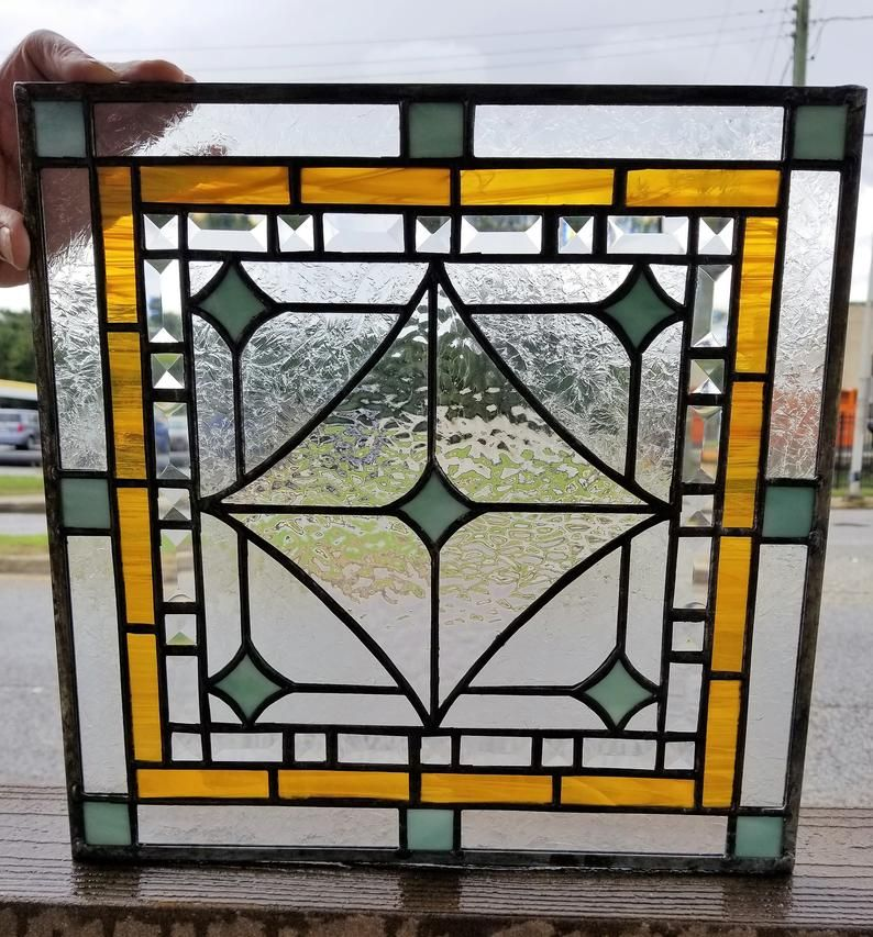 P 214 Stained Glass Panel Etsy In 2020 Glass Window Art Glass Panels Stained Glass Panel