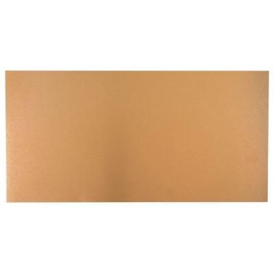 M D Building Products 12 In X 24 In Copper Aluminum Sheet 57525 The Home Depot Metal Siding Siding Trim Copper Sheets