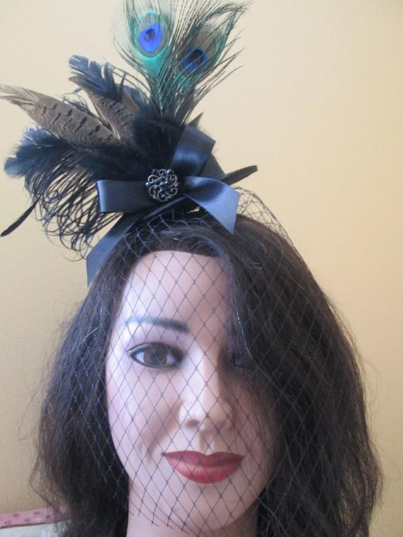 Mary Poppins Black Mini Top Hat- READY TO SHIP 25a396b41e6