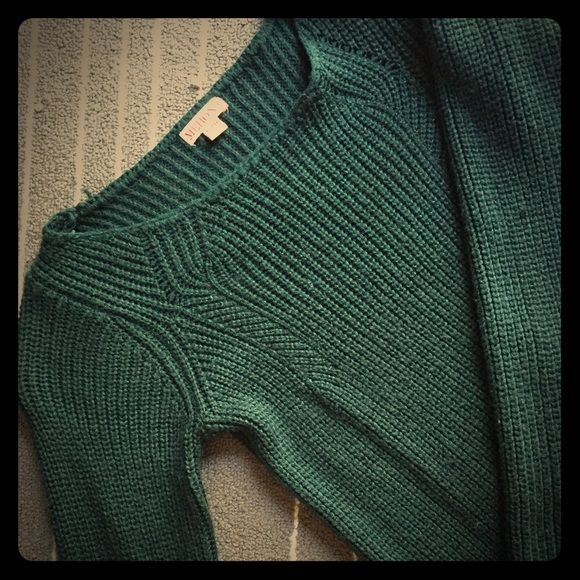 emerald green tunic sweater perfect for the upcoming fall days ...