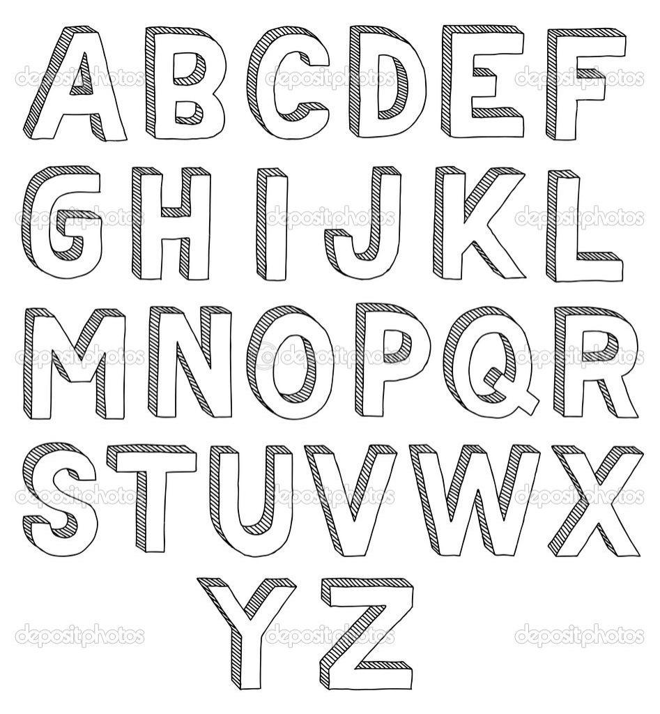 Painting 3d Letters