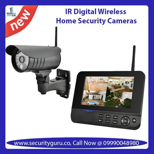 buy best quality security camera systems ir digital wireless home security cameras and cctv security cameras with security guru at minimal cost - Security Camera Installation Cost