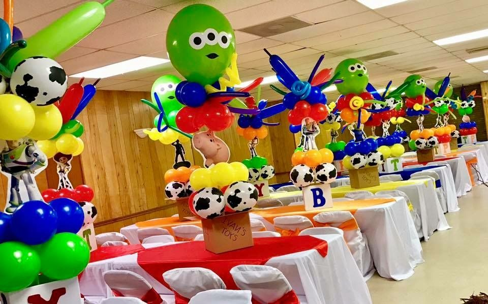 Toy Story Centerpieces! & Toy Story Centerpieces! | ideas | Pinterest | Toy story centerpieces ...