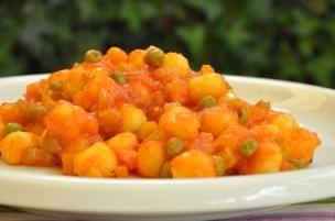 Gnocchetti rossi alle verdure