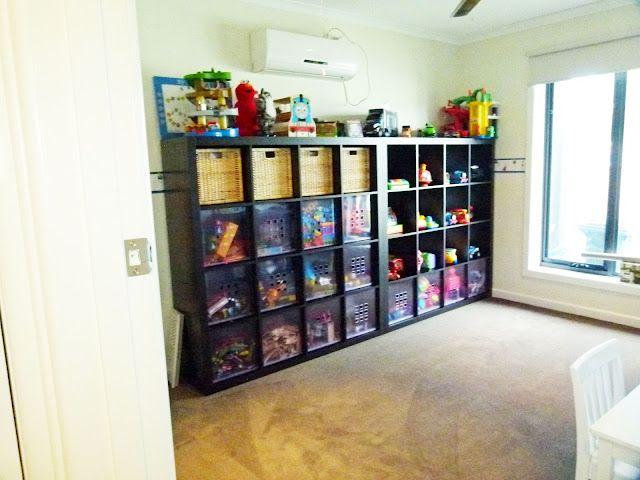 Organising To Make Life Easier: Toy Organisation - Playroom