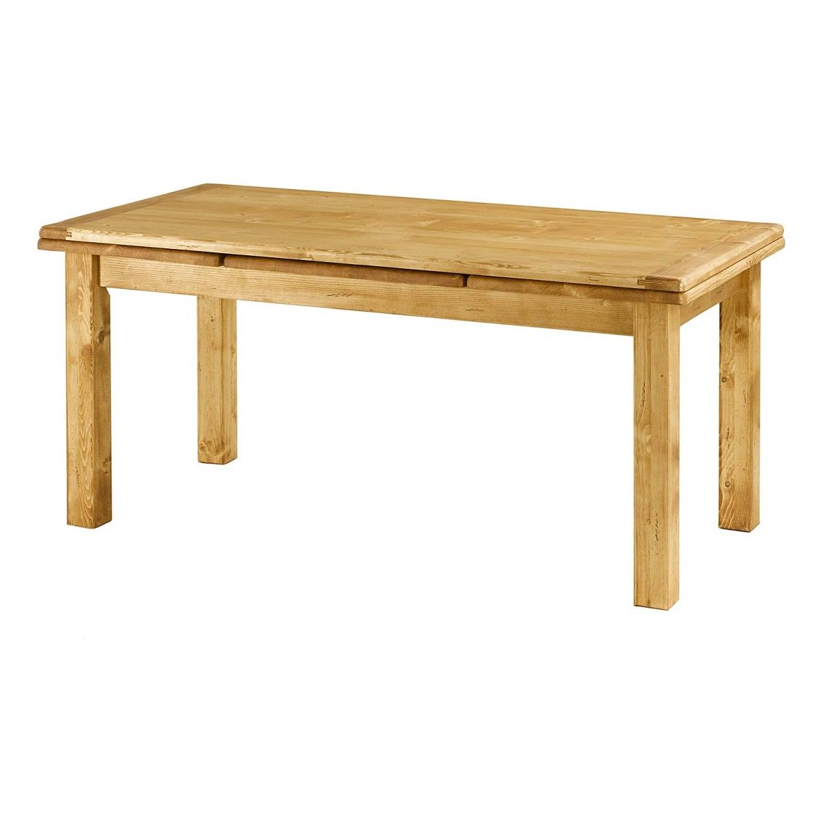 Table Sapin Massif 160 Cm Avec Allonges Oregon Table Pin