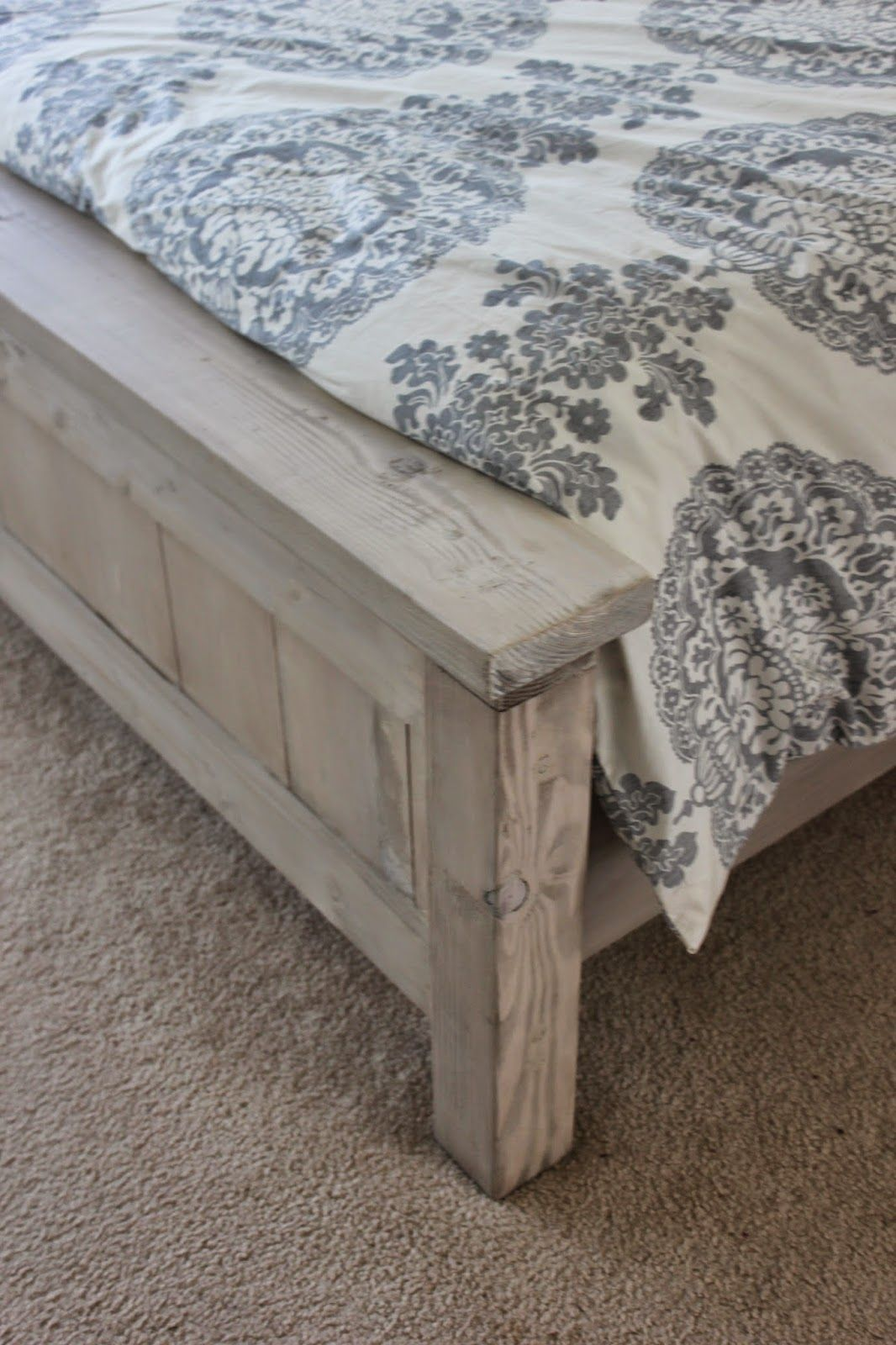 a city born love Our DIY Bed How to make bed, Diy bed