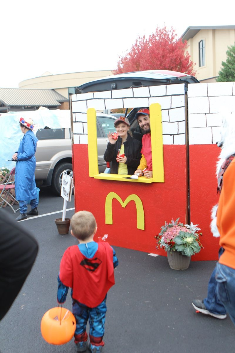 trunk or treat idea mcdonalds | holidays-halloween | pinterest