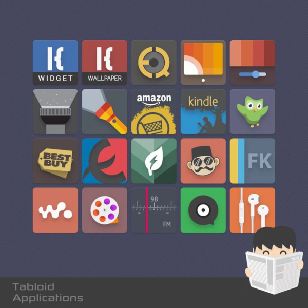 Pin by jose a on Download android games Tabloid Icon v2.1