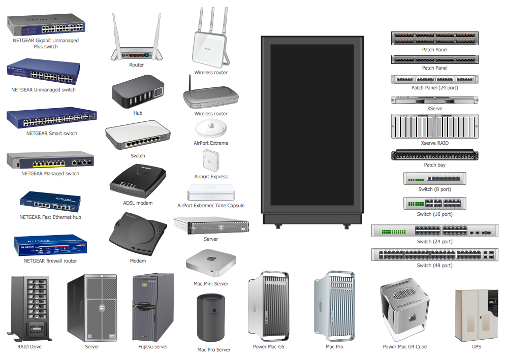 Design Elements  U2014 Network Hardware