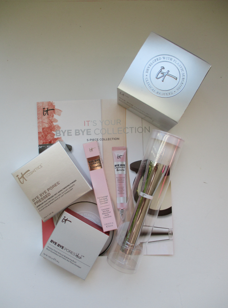 it cosmetics its your bye bye collection review Beauty
