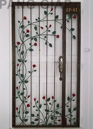 Stunning Wrought Iron Design Ideas That Are Truly Amazing Genmice Grill Door Steel