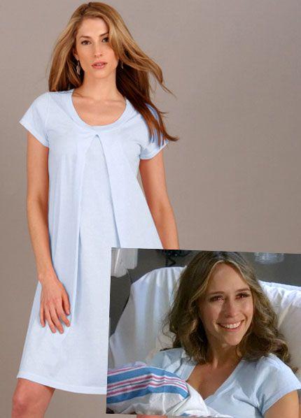 Jersey Hospital Nursing Gown