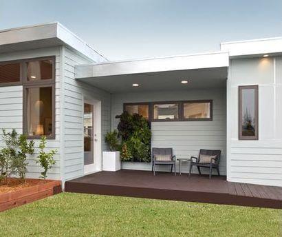 Casas Bonitas De 110 Metros Cuadrados Buscar Con Google Modern Style House Plans Backyard Cottage Modern House Plan