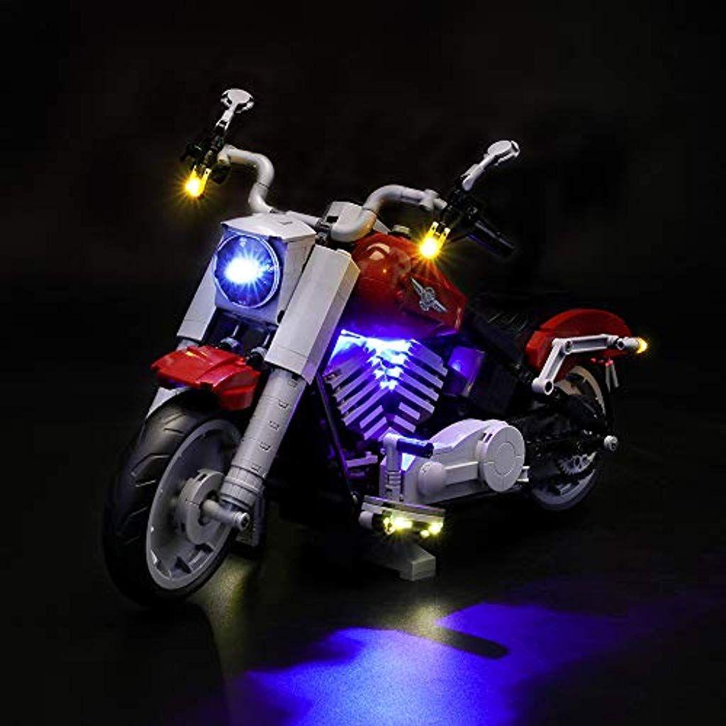 Lightailing Licht Set Fur Creator Harley Davidson Modell Led Licht Set Kompatibel Mit Lego 10269modell Nicht Enthalten Harley Davidson Modelle Led Licht Lego