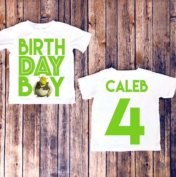 c3a3c7b9e PLEASE READ ALL SHOP ANNOUNCEMENTS PRIOR TO ORDERING WITH OUR SHOP! Shrek  birthday shirt,