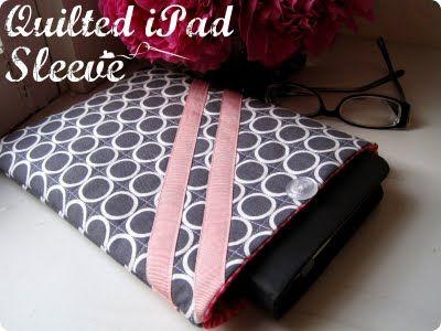 Stitchery Dickory Dock: iPad Sleeve Tutorial