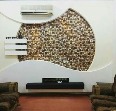 Latest Gypsum Board Tv Wall Design For Living Room Tv Wall Design Wall Design Modern Tv Wall