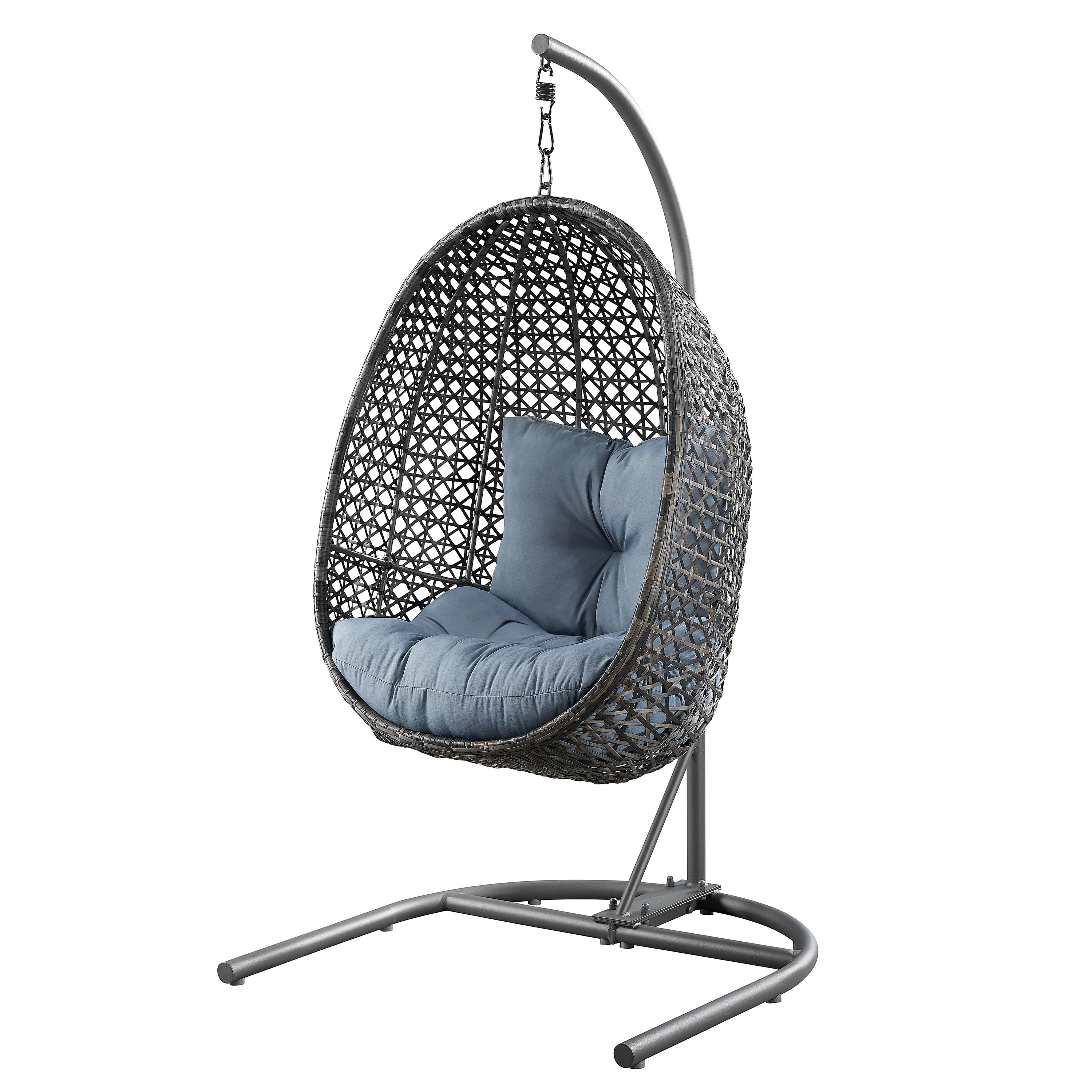 Patio & Garden Hanging chair with stand, Hanging chair