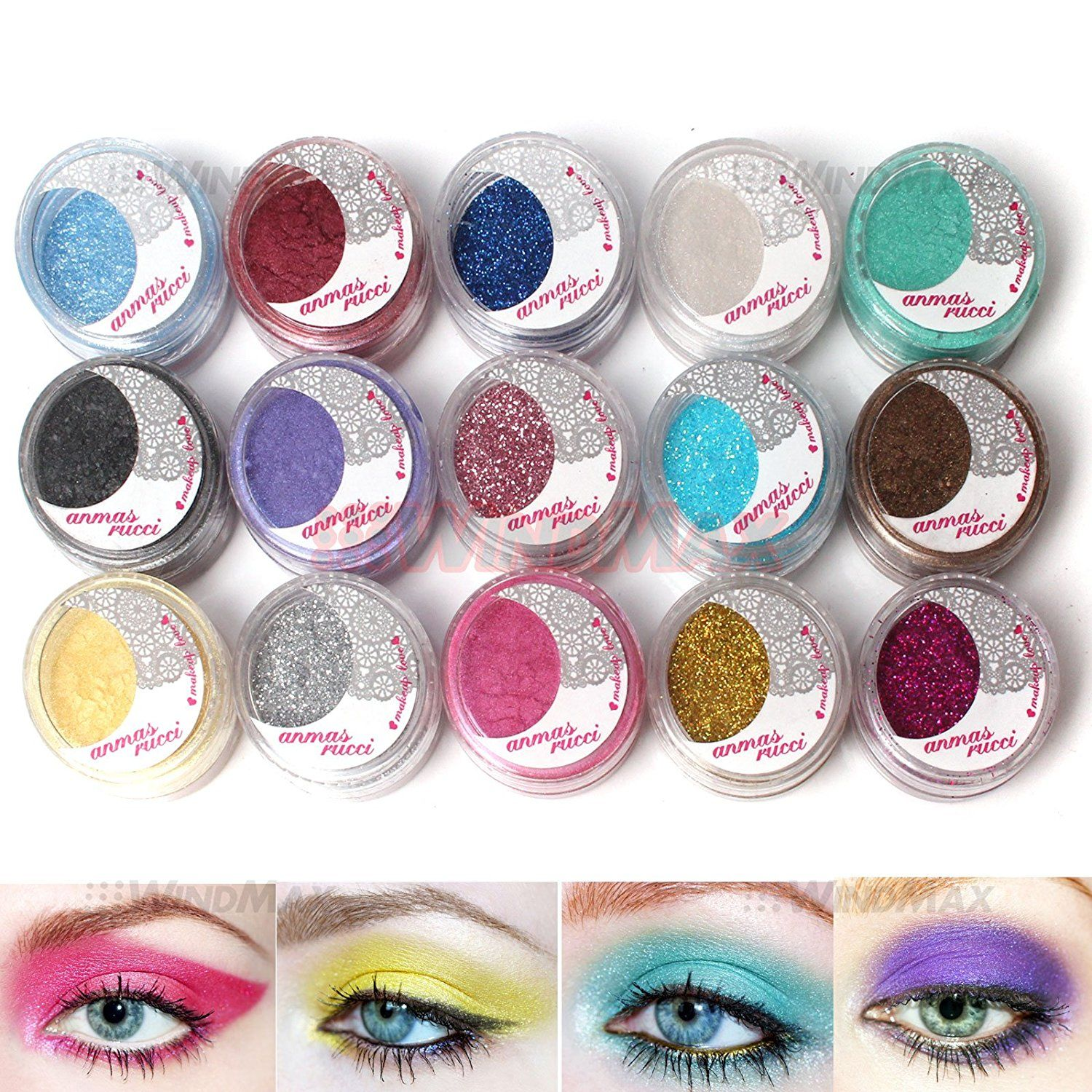 WindMax® US Store 15 Warm Color Glitter Shimmer Pearl