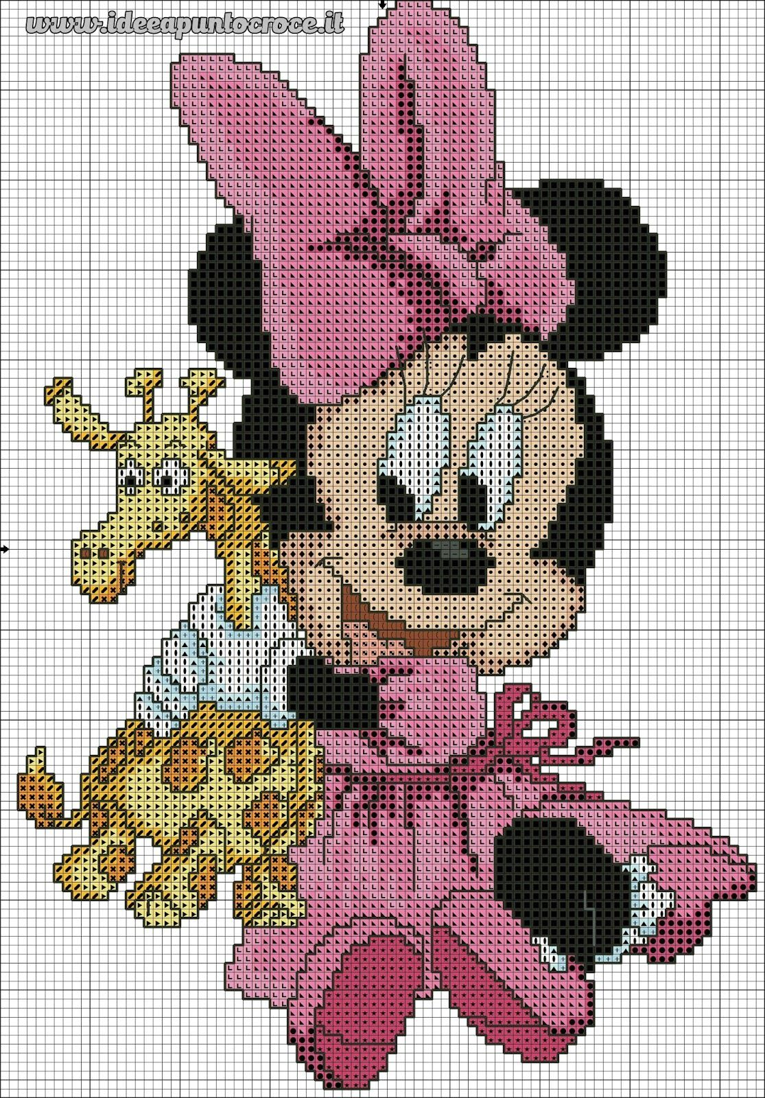 Schemi punto croce disney disney cross stitch bimba for Schemi punto croce disney gratis