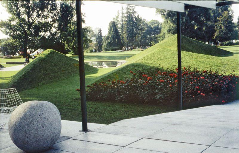 Garten Des Poeten Ernst Cramer 1959 Garten Garden Landscaping