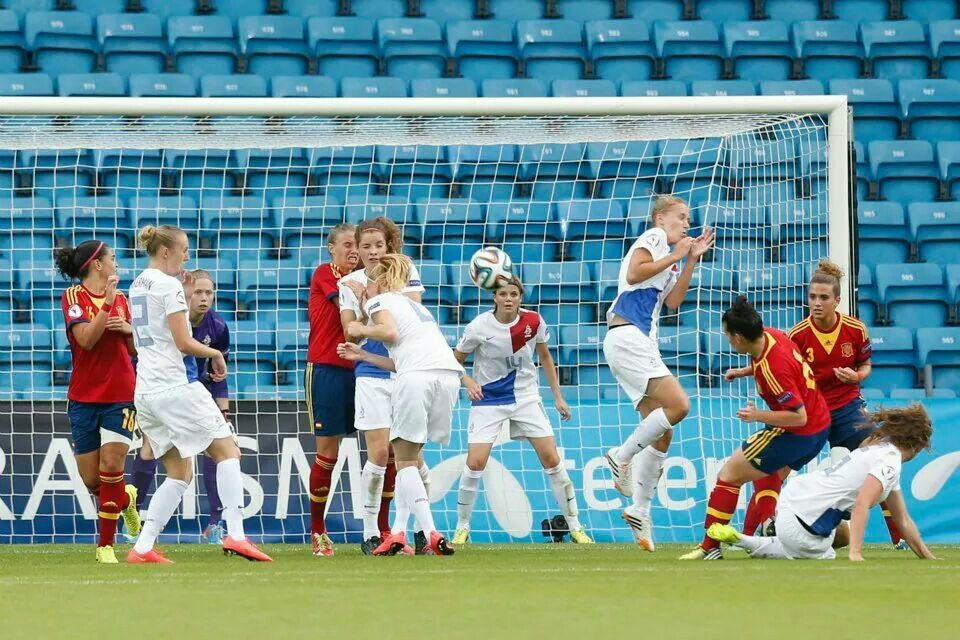 NL elftal o 19 vrouwen Europees kampioen