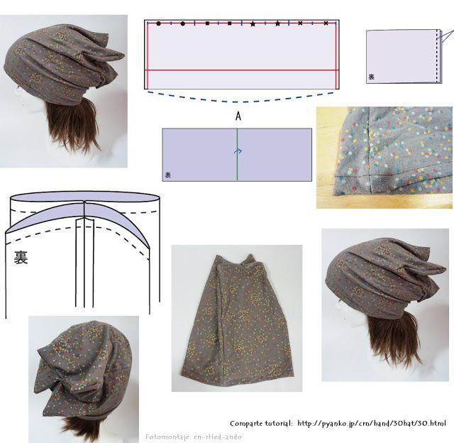 Como hacer Sombreros de Todo tipo.Patrones. Tutoriales | quimio ...