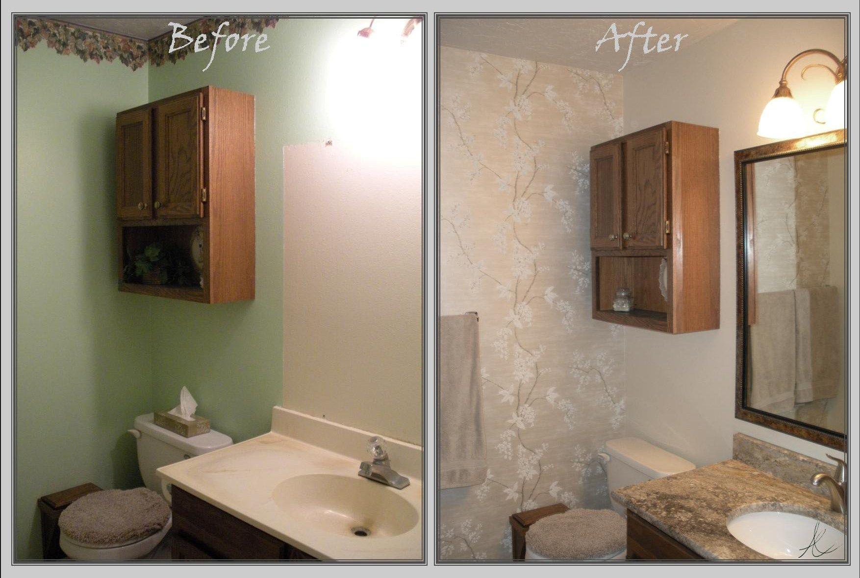 Badezimmer Renovierungsideen vor und nach | Kleines bad ...