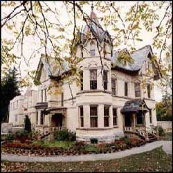 Annandale House in Tillsonburg, Ontario.  Now a museum.