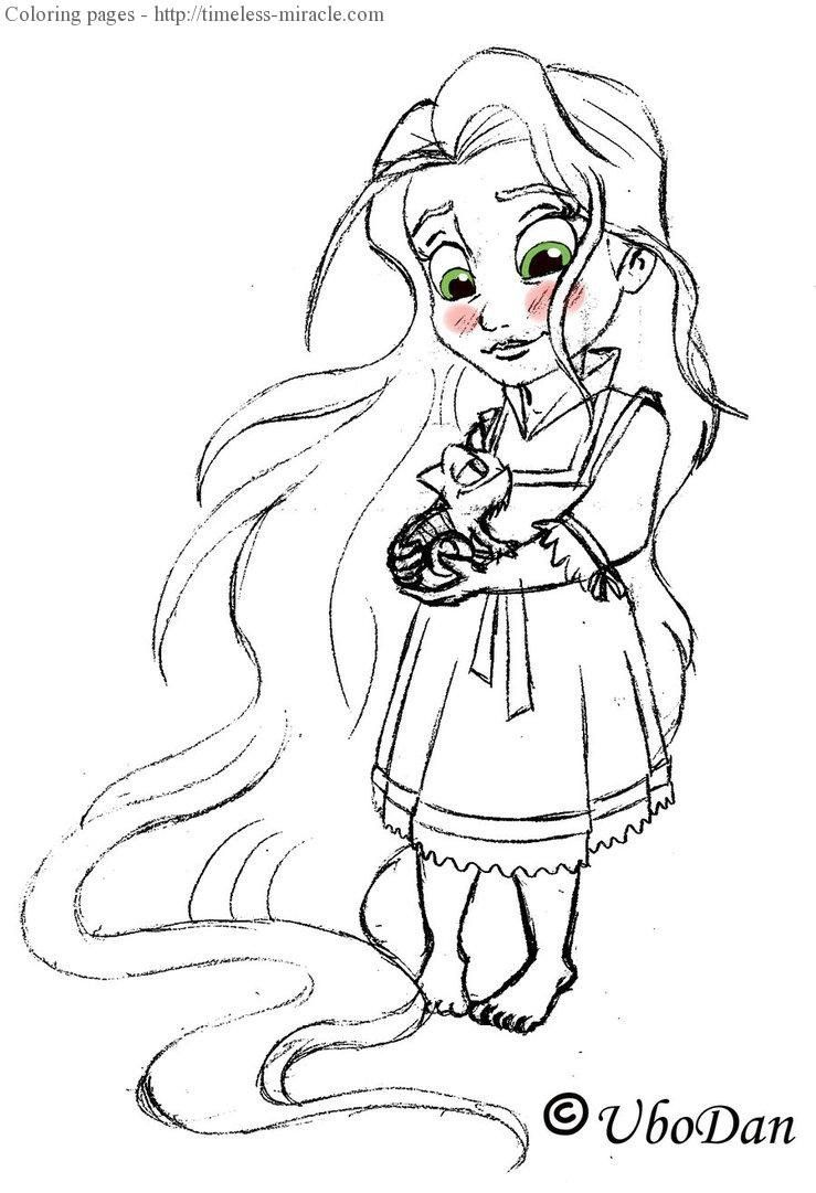 Disney Princess Coloring Book Awesome Coloring Books Babycess Coloring Pages For Kids Book In 2020 Rapunzel Coloring Pages Disney Princess Drawings Cute Coloring Pages