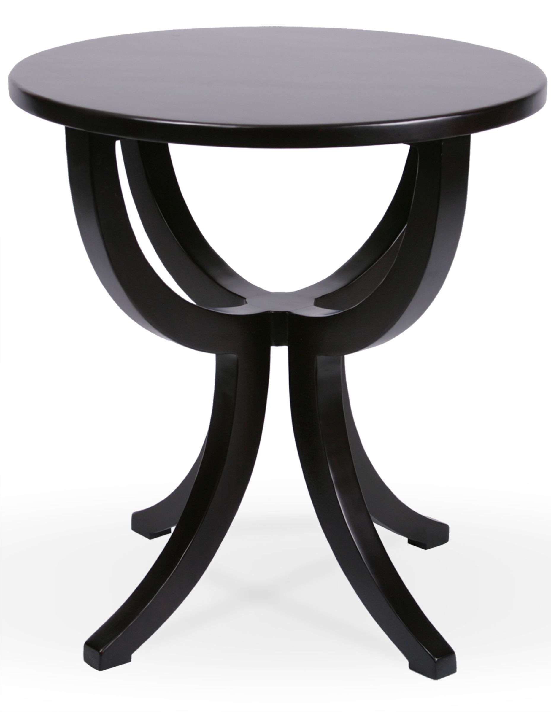 MacKenzieDow Fine Furniture Piccadilly Round Side Table Diameter - 26 high end table