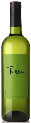 Tessa verdejo. Knisperig frisse Spaanse wijn.