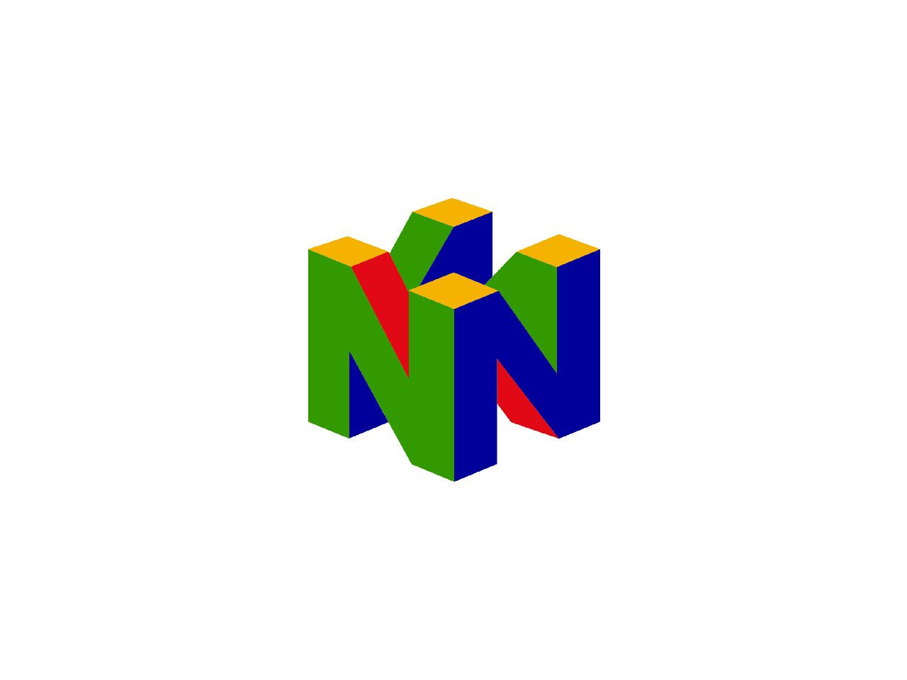 N64 Logo Using Perspective Gverl Pinterest Logos Nintendo 64