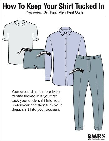 6c2f2caeccd6 The Secret To Keeping Your Shirt Tucked In ALL DAY? | My Style ...