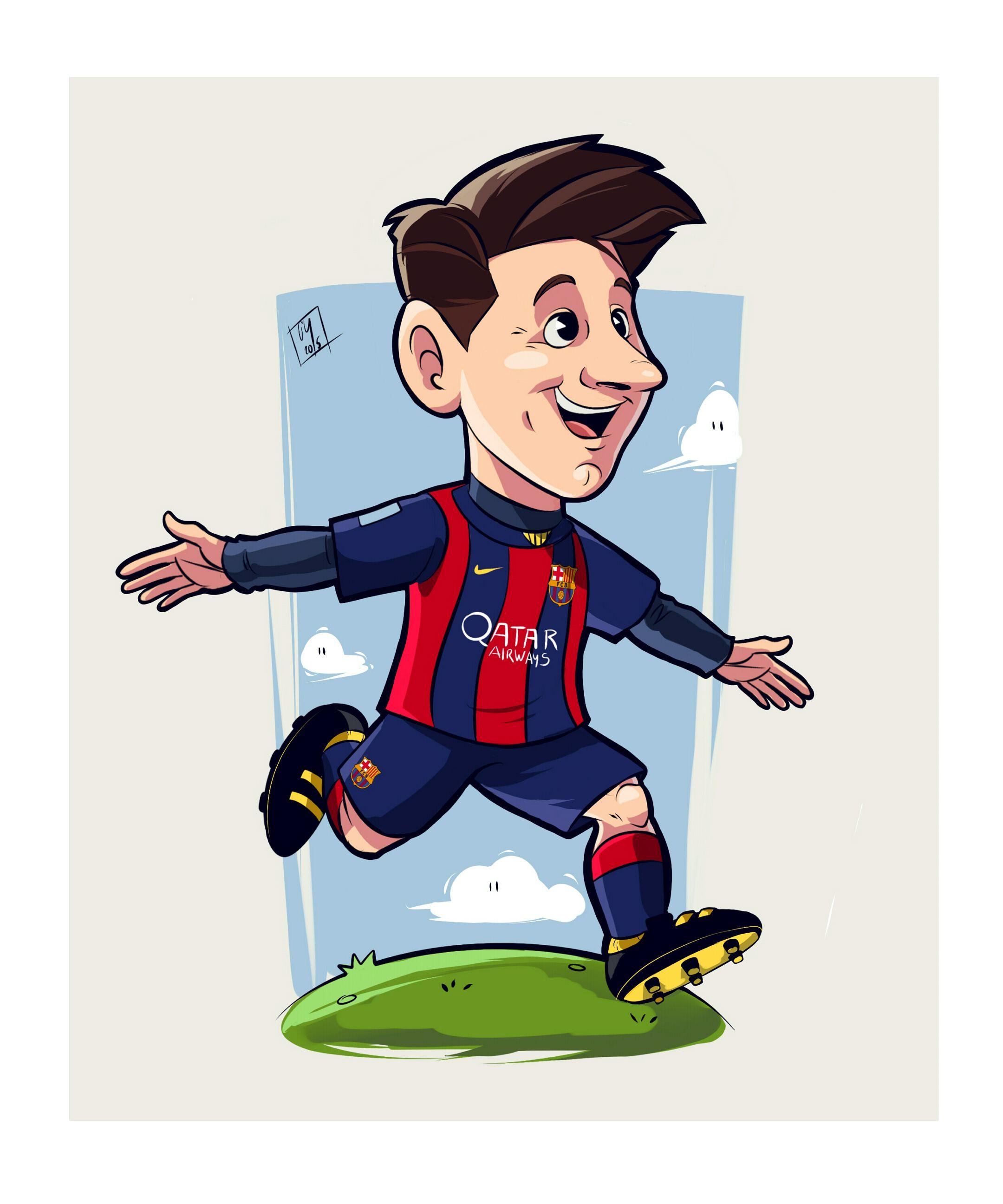 Leo Messi tribute (JuanCharles) | Football player drawing, Messi ...