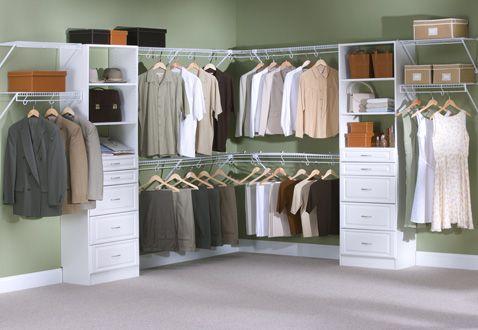 Rubbermaid Closet Systems Home Decor