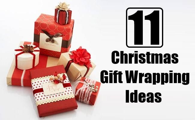 11 amazing christmas gift wrapping ideas you can make yourself 11 amazing christmas gift wrapping ideas you can make yourself solutioingenieria Image collections
