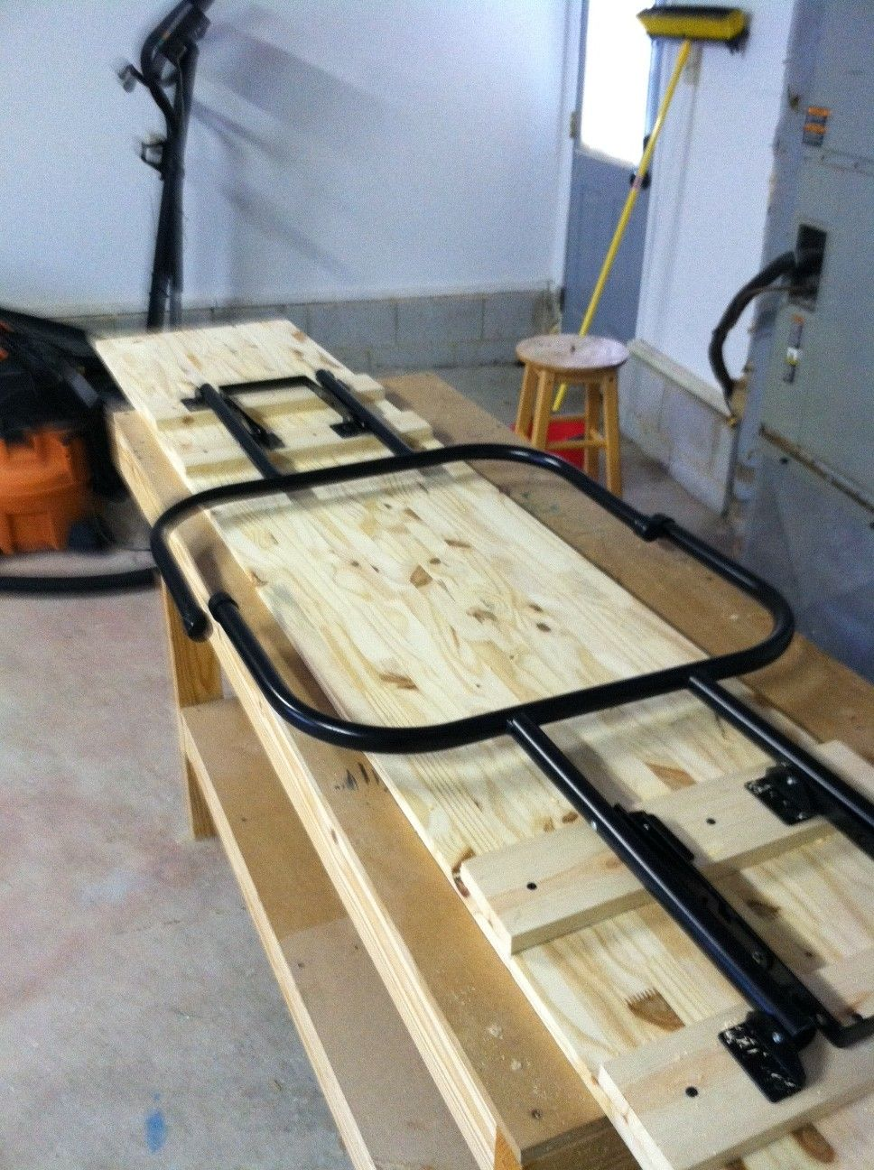 Homemade beer pong table - Folding Beer Pong Table Plans