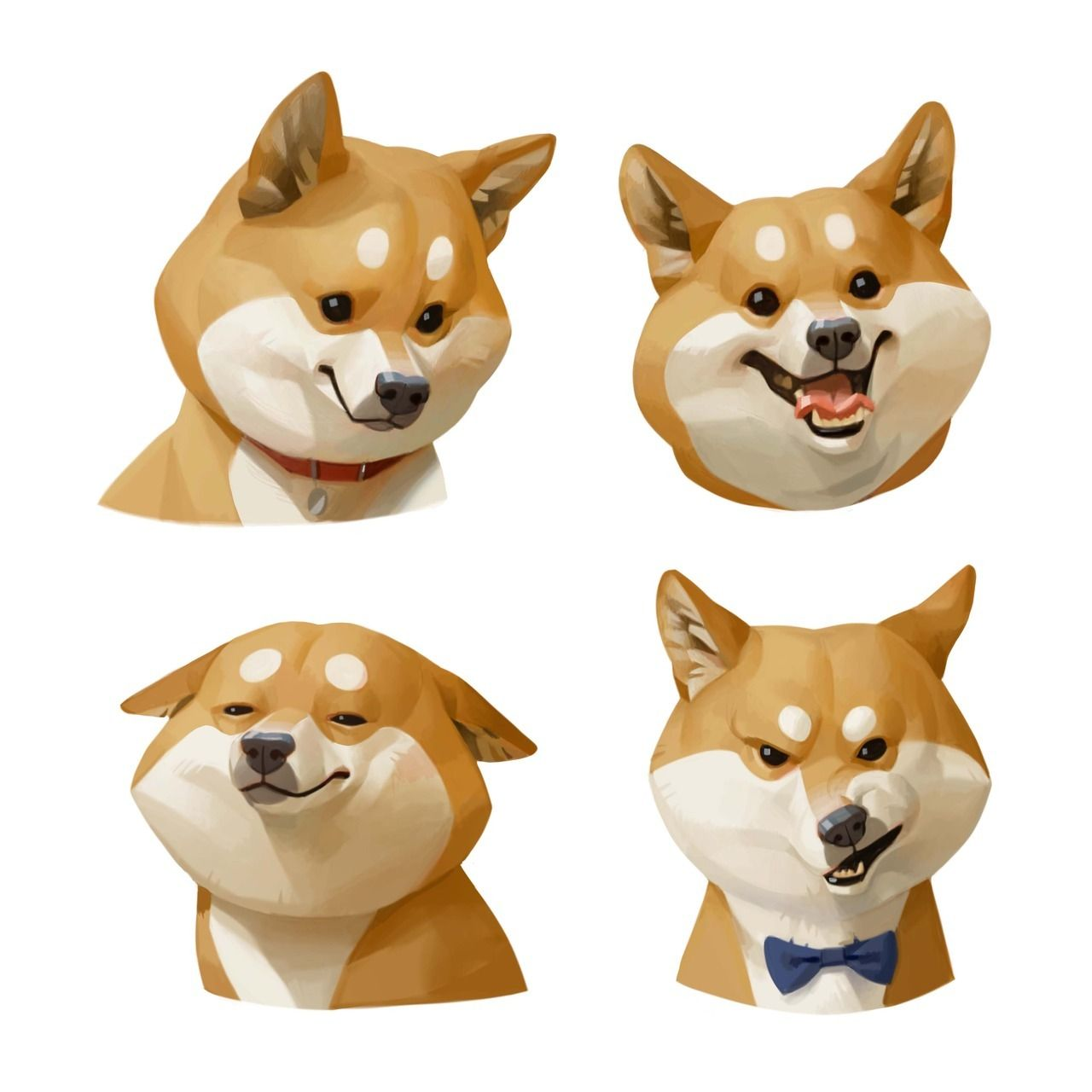 Shiba Dog Dog Illustration Dog Art Character Design
