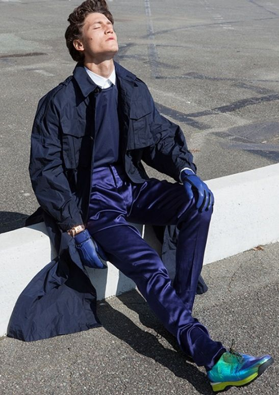 For Intersection magazine styled by JeanPaul Paula photography by Nicolas Coulomb Model Waël @ bananas