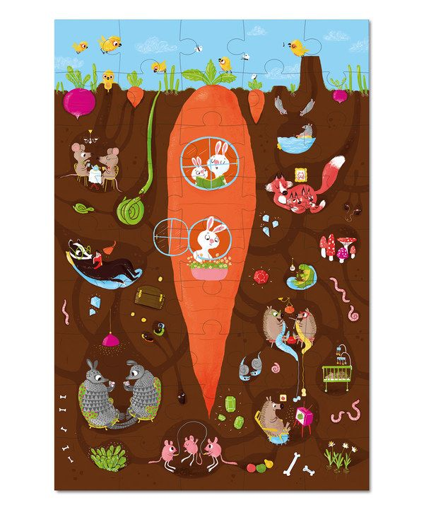 Look at this Krooom Underground Puzzle on #zulily today!