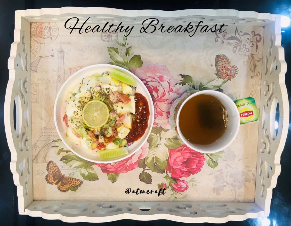 Egg, vegetables and apple mixed Creamy flavoured Salad for healthy Breakfast with Ice tea.... Stay Fit, Stay healthy  Follow for more - @atmcraft @amaninsta_official   #atmcraft #superhubs #sections #breakfast #fit #stayhome #staysafe #stayhealthy #eat #good #dream_image #love_all_sky #workout #gym #egg #vegetables #apple #fruits #greentea #tea #instagram #instadaily #instagood #insta #instabreakfast #beauty #art #photography