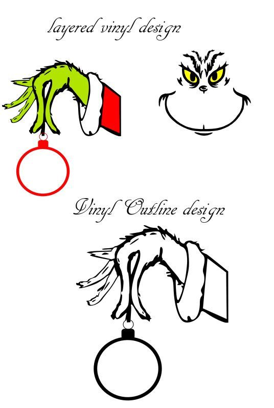 image about Grinch Printable Template titled Pin as a result of Carrie Brewer Smith upon Silhouette Me Grinch