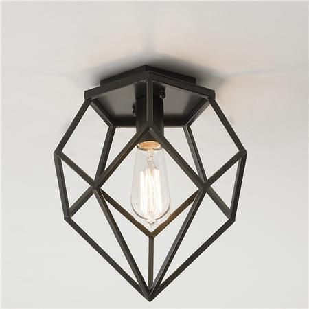Young House Love Geometric Diamond Ceiling Light Ceiling, Lights