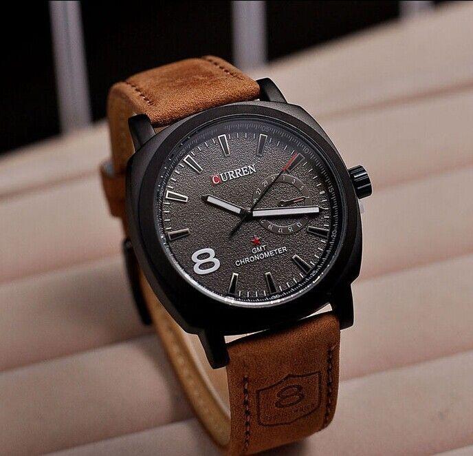 Aliexpress Com Comprar Relogio Masculino Moda Curren Relojes Hombres Lujo Nuevo Correa De Cuero De N Relojes Deportivos Hombre Reloj De Hombre Reloj De Cuarzo