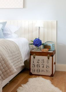 Simple idea for a guest room.