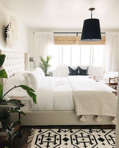 Modern Boho Minimalist Bedroom