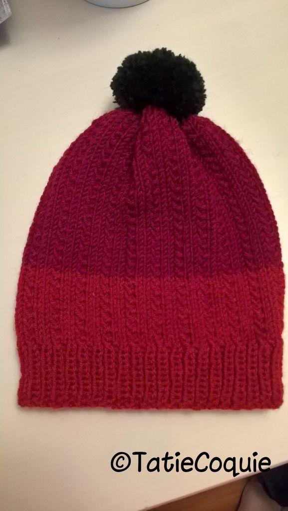 Ce bonnet pour enfant de 3 à 7 ans se tricote en environ 5 heures. A ... 856f0867c42